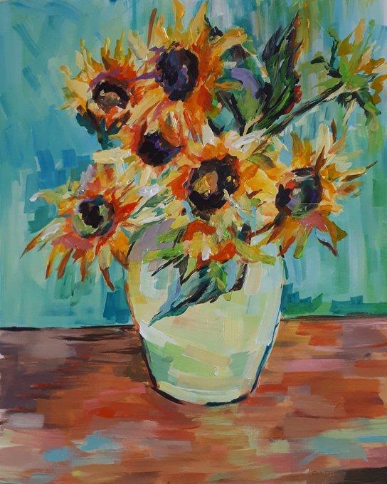 Sue Clayton Sunflowers