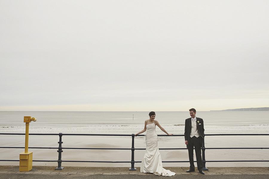 Filey Beach Couple Portrait