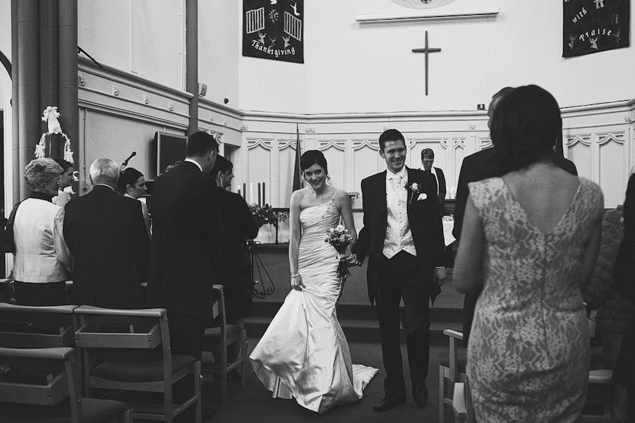 The Departure of the Bride and Groom
