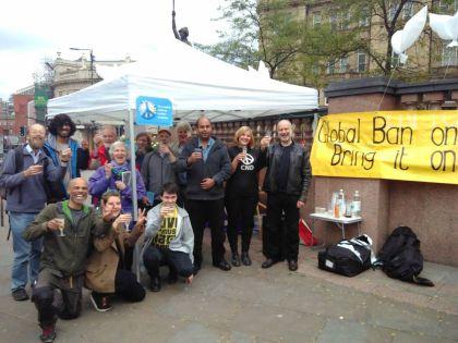 Ban Treaty Celebration in Leeds