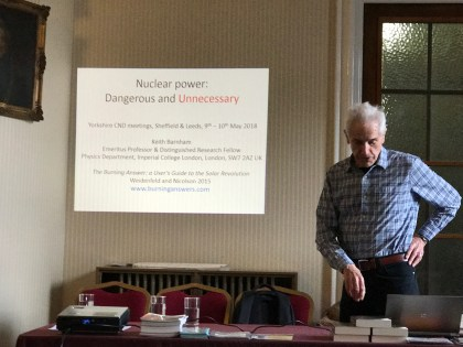 Nuclear Power meeting in Leeds