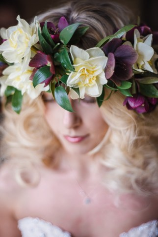 Hellebore Flower Crown