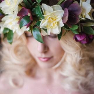 Hellebore Flower Crown
