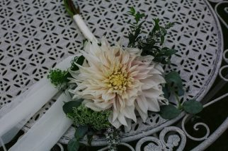 Cafe au Lait Bridesmaid Bouquet. Photo: Tim Dunk Photography.