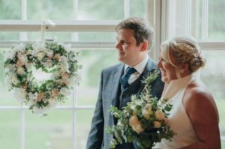 Paul and Sally's wedding. Photo: Mr and Mrs Photography