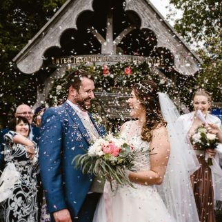 Chris and Jess' Wedding. Photo: Georgina Brewster Photography