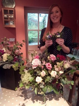 Bridal Flowers One to One Workshop 2017