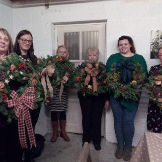 Christmas Wreath Workshop 2017