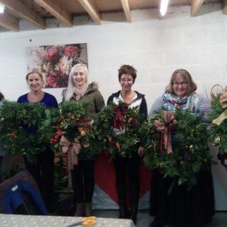 Christmas Wreath Workshop December 2017