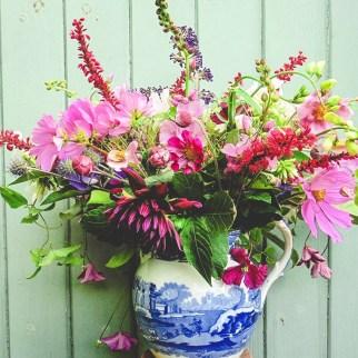 Homegrown Summer Flower Arrangement