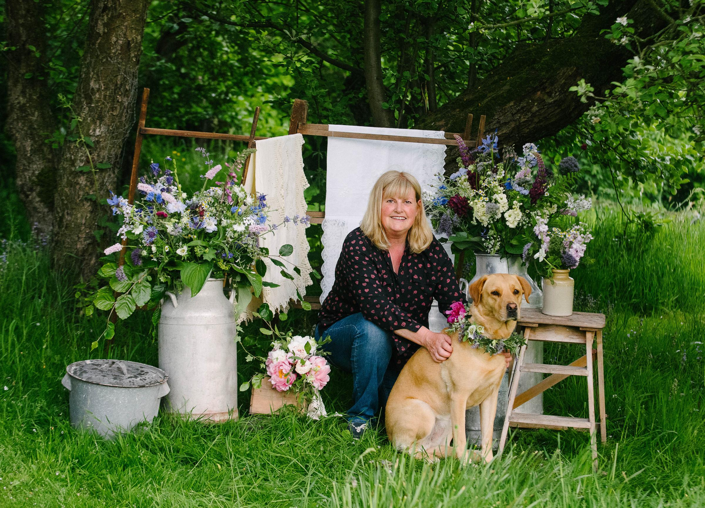 The Telegraph & Argus – Susan Dobson Has A Blooming Lovely Career – Thanks To The Growing Demand For British Flowers
