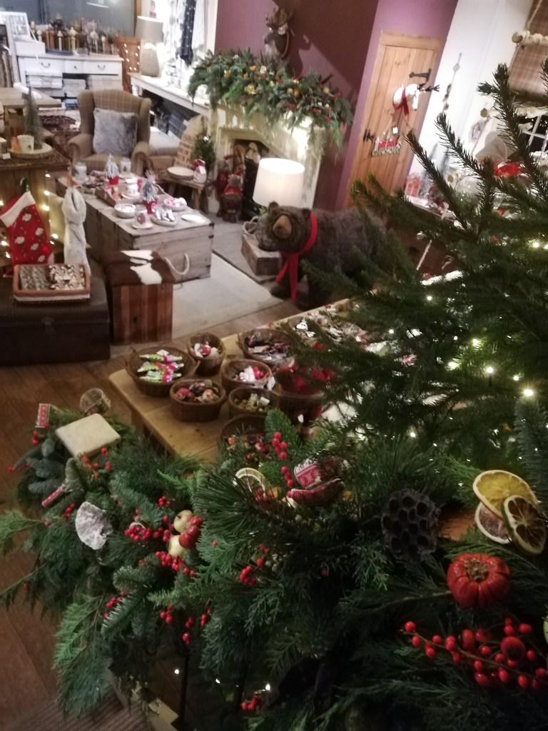 Christmas, mantelpiece, fireplace
