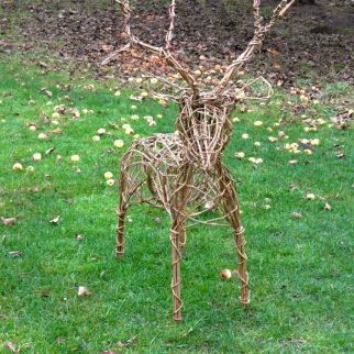 Willow Reindeer Workshop Skipton
