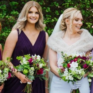Photo Lily North Photography. Jo and Bridesmaids