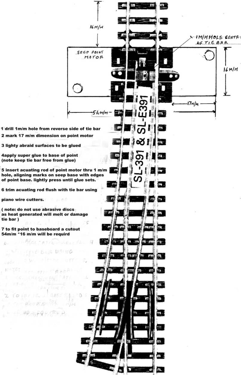 Wiring Diagram For Peco Point Motors Library Hornby Points And Yorkshirengauge Org Uk Seep
