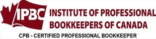 IPBC Institute of Professional Bookkeepers of Canada CPB Certified Professional Bookkeeper