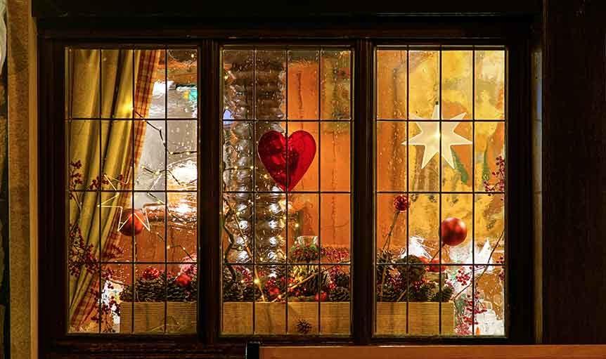 Christmas Window Display Ideas Timber Windows At Harewood