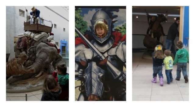 kids playing at the royal armouries leeds