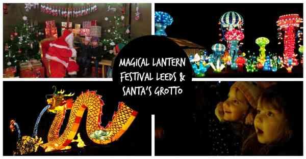 magical lantern festival leeds santas grotto
