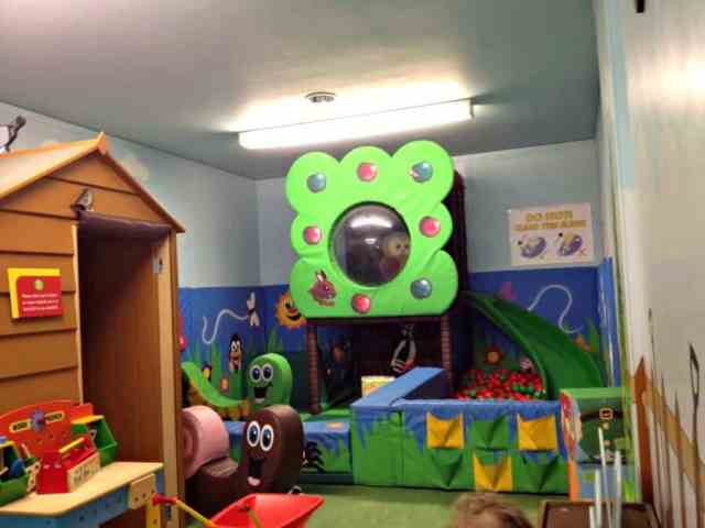 indoor play area for toddles at national coal mining museum wakefield