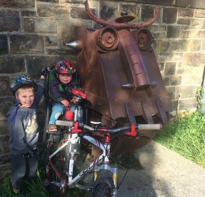 spen valley greenway yorkshire family bike rides