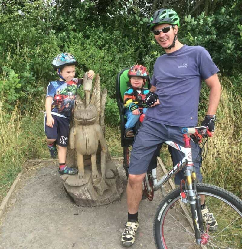 room on the broom trail yorkshire family bike rides