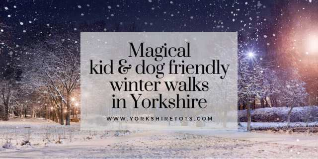Winter walks in Yorkshire list of kid and dog friendly walks