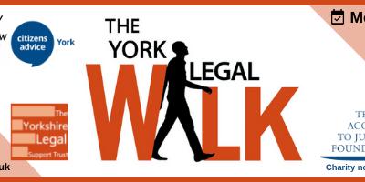 The York Legal Walk – 28th June 5.30pm