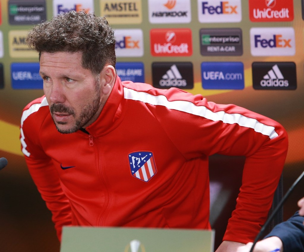 'Atlético are about passion, hard work, humility' – Simeone on his defensive tactics