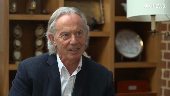 Tony Blair Mullet Hair