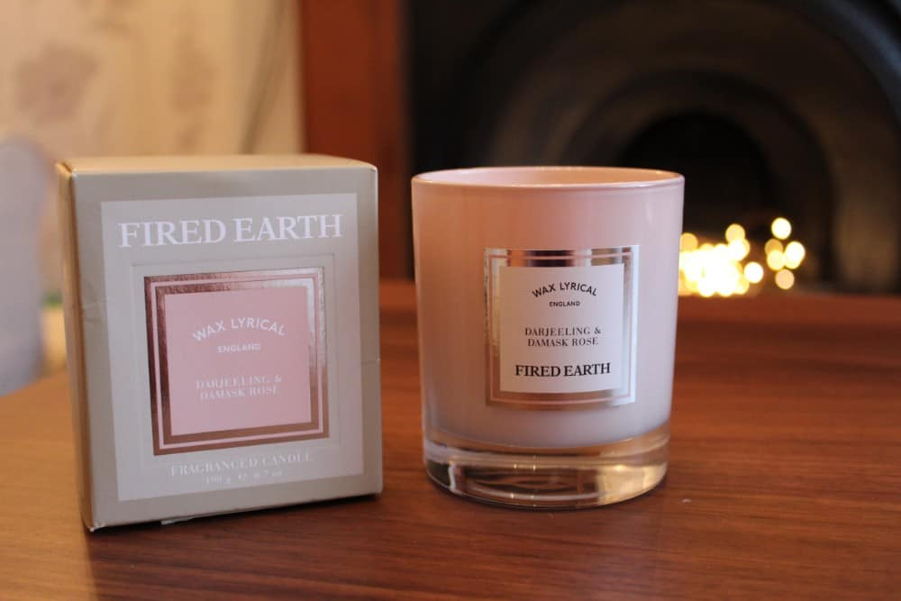 Fired Earth Darjeeling and Damask