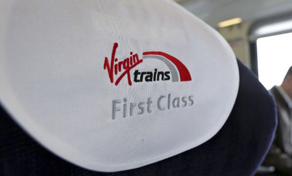 What do you get extra in Virgin Trains First Class?