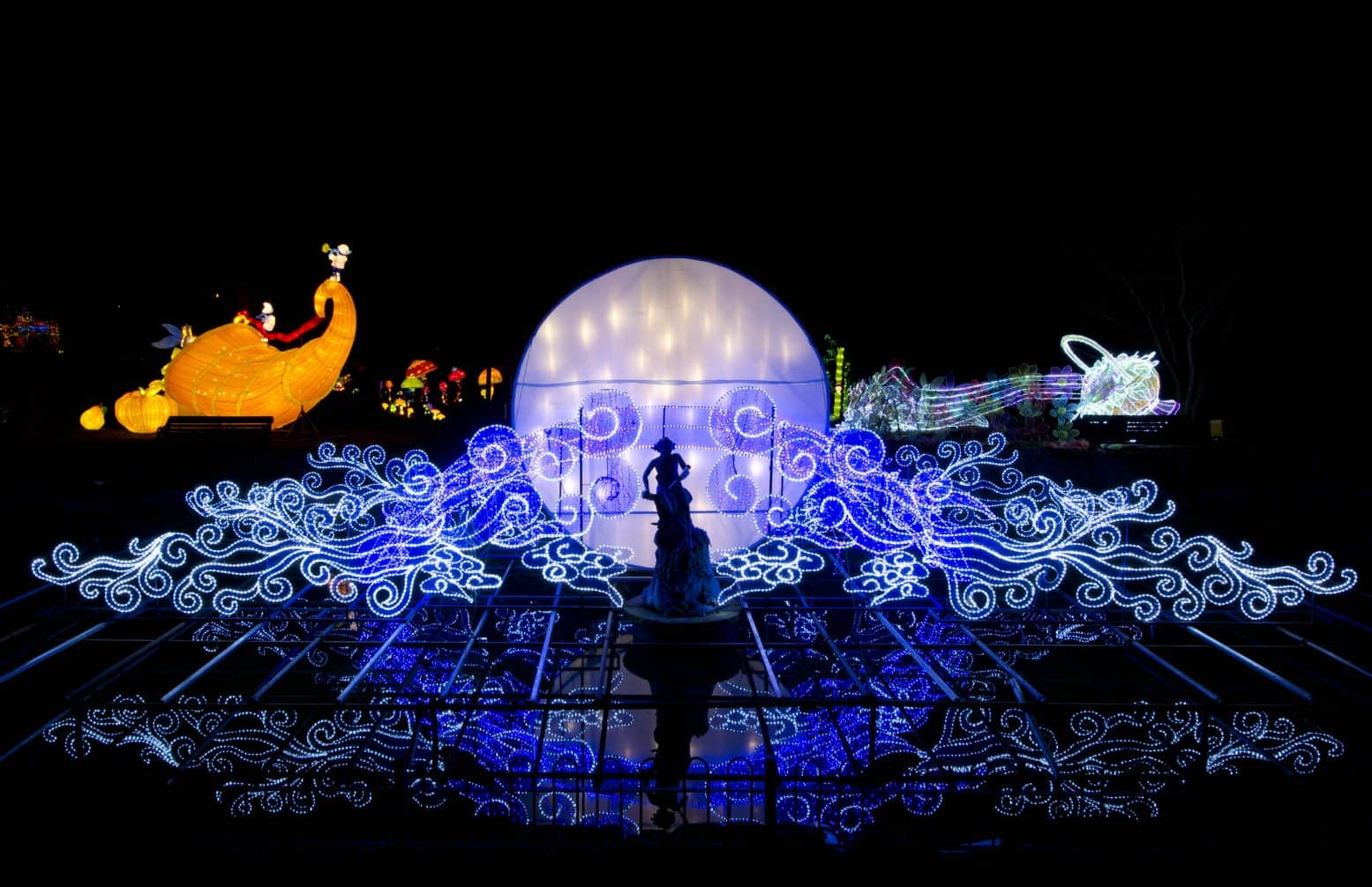 The Magical Lantern Festival at Roundhay Park, Leeds