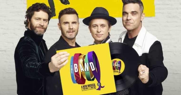 The Band – The Take That Musical at the Leeds Grand Theatre