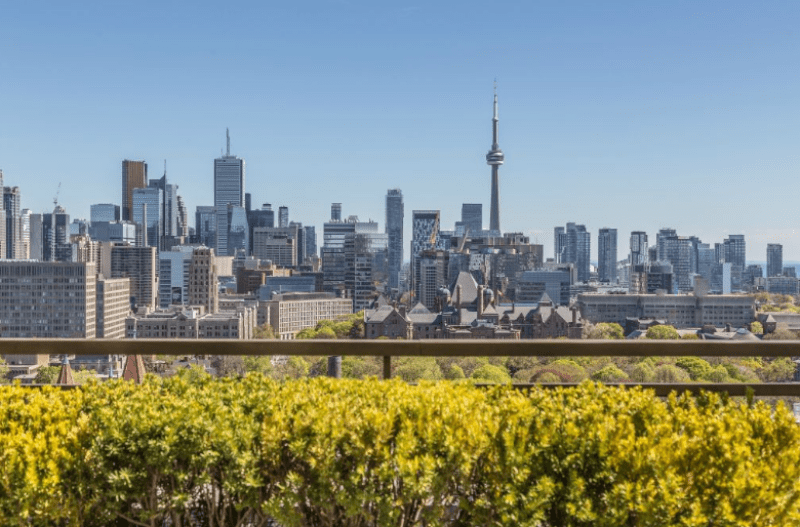 Yorkville Condos for Sale - Balcony View