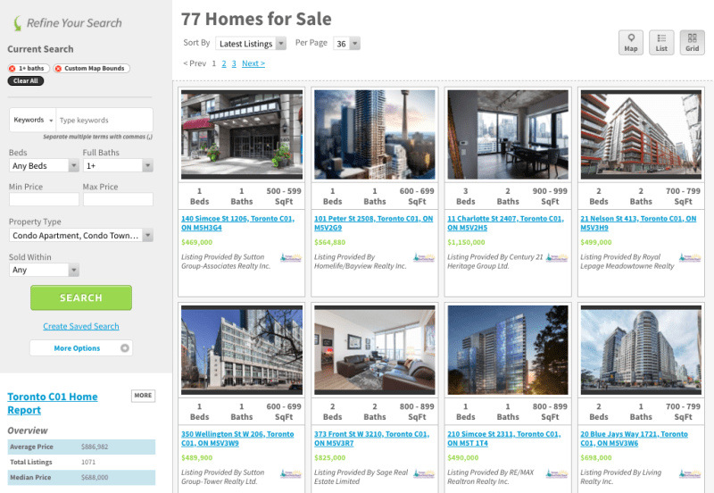 Entertainment District Condos for Sale - Live Listings Current - Yossi Kaplan
