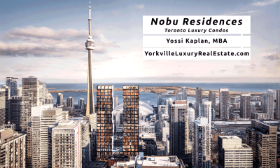 Nobu Residences for Sale - Nobu Condos Toronto - Contact Yossi Kaplan MBA