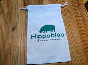 ヒッポブルーのビーチサンダルの袋