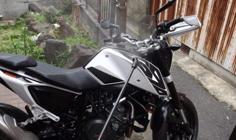 バイクの洗車の道具と方法