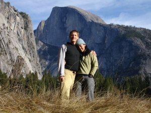 Tom and Theresa below Half Dome