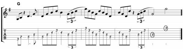 トライアド ,練習,ギター