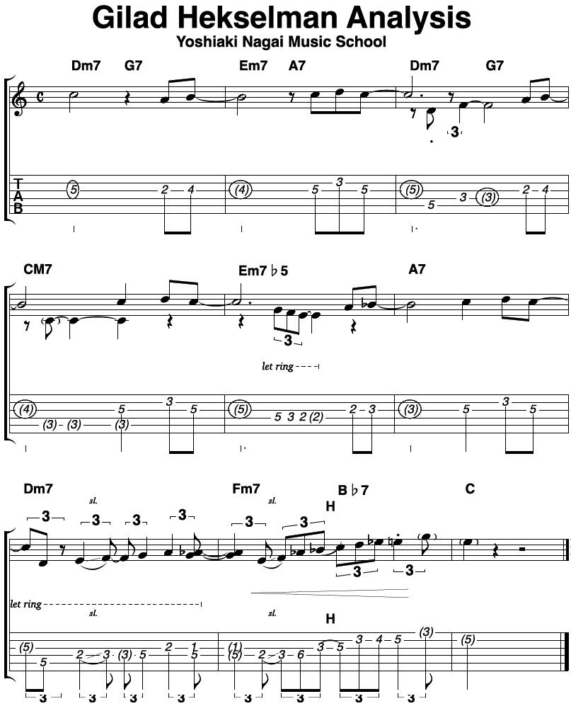 gilad-hekselman,アドリブフレーズ,ジャズギター