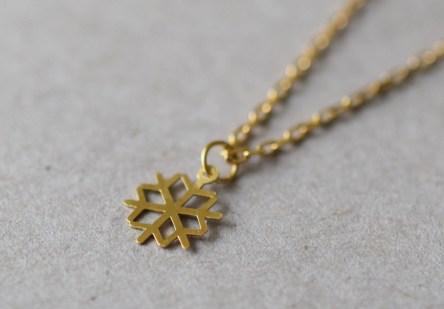 Bracelet tiny Snow Flake