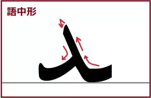 ダール語中形