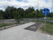 Fachowa droga rowerowa