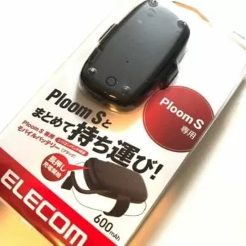 【エレコム製】Ploom S(プルームエス)のモバイルバッテリーを使ってみた!