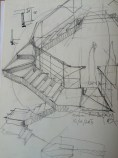 Sketch for the stair