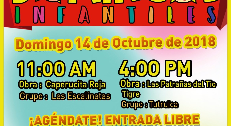 Domingos infantiles Teatro Municipal Enrique Buenaventura