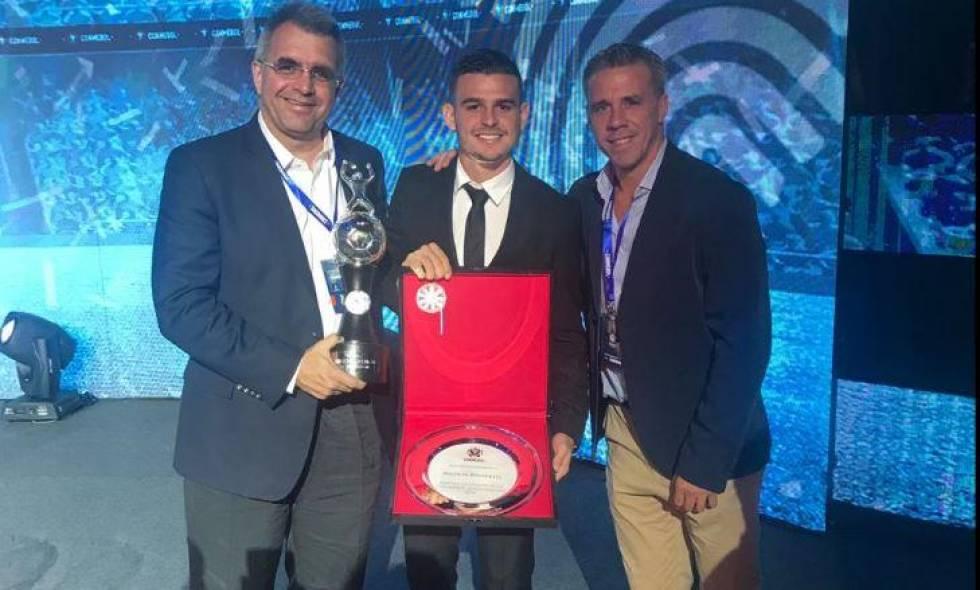 Nicolás Benedetti 'El Poeta' goleador de Copa Conmebol Sudamericana
