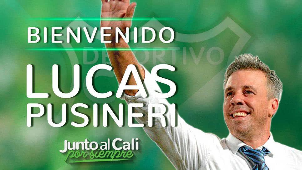 Lucas Pusineri, nuevo técnico del Deportivo Cali